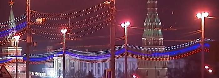Kreml 2015 under LED