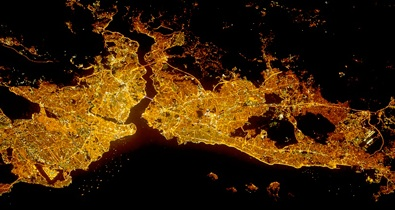 NASA_Istanbul-at-Night