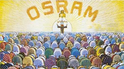 OSRAM wird angebetet